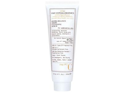 VMV Hypoallergenics Hydra Balance Smart Cleansing Scrub for Combination Skin, 4 fl oz