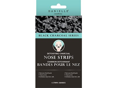Danielle Detoxifying Charcoal Nose Strips, 8-Piece, 8