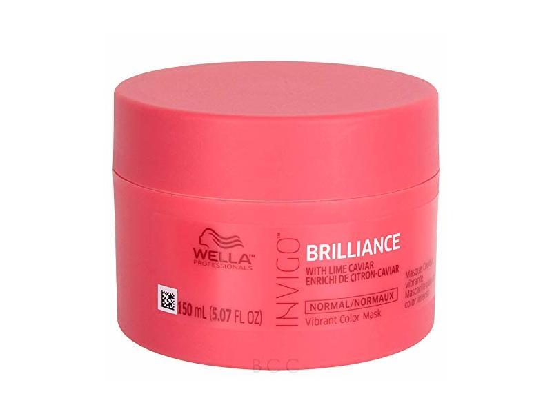 Wella Invigo Brilliance Vibrant Color Mask, 5.07 fl oz/150 mL
