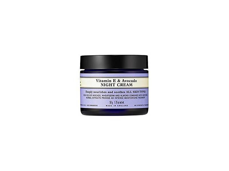 Neal Yard Remedies Vitamin E & Avocado Night Cream, 50g