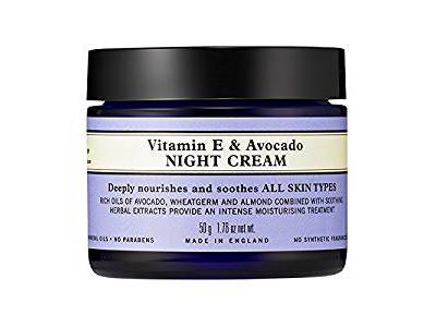 Neal Yard Remedies Vitamin E & Avocado Night Cream, 50g