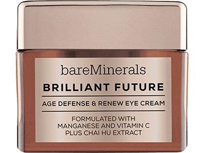 bareMinerals Brilliant Future Age Defense and Renew Eye Cream, 0.5 Ounce
