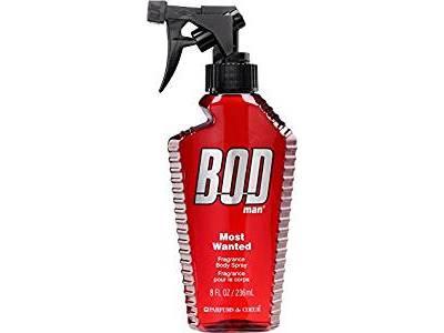 Bod Man Most Wanted Fragrance Body Spray, 8 oz