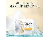 Olay Daily Facial Nourishing Cleansing Cloths Tub with Shea Butter Makeup Remover, 33 ct - Image 10