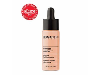 Dermablend Flawless Creator Liquid Foundation Makeup Drops, Oil-Free, Water-Free, 37N, 1 Fl. Oz. - Image 6