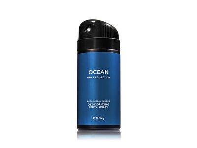 Bath & Body Works Deodorizing Body Spray For Men, Ocean, 3.7 oz - Image 1
