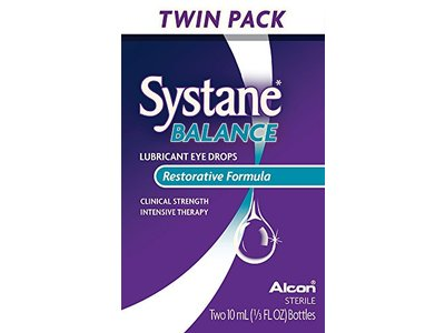 Systane Balance Lubricant Eye Drops, Twin Pack, 10-mL Each - Image 8