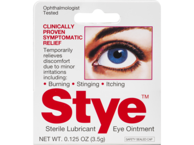 Stye Sterile Lubricant Eye Ointment, 0.125 Oz - Image 3