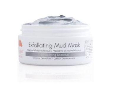 Tree Hut Skincare Exfoliating Mud Mask, Detoxifying Charcoal, 0.7 oz