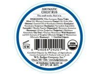 Badger Balm Aromatic Chest Rub, Eucalyptus + Mint, .75 oz - Image 3