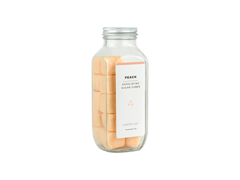 Harper + Ari Peach Exfoliating Sugar Cubes, 16oz