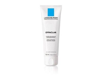 La Roche-Posay Effaclar Deep Cleansing Foaming Cream Cleanser for Oily Skin, 4.2 Fluid Ounce