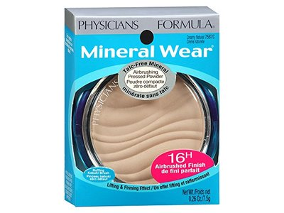 Physicians Formula Mineral Wear Talc-Free Mineral Makeup Airbrushing Pressed Powder SPF 30, Creamy Natural, 0.26 Ounce - Image 9