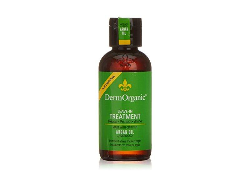 DermOrganic Leave-in Argan Oil Treatment, 4 fl.oz