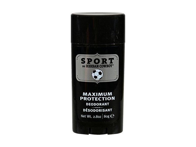 Herban Cowboy Deodorant Sport Maximum Protection 2.8 Oz