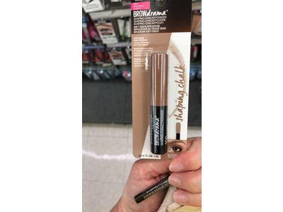Maybelline Brow Drama Shaping Chalk Powder, Blonde, 0.035 fl. oz. - Image 10