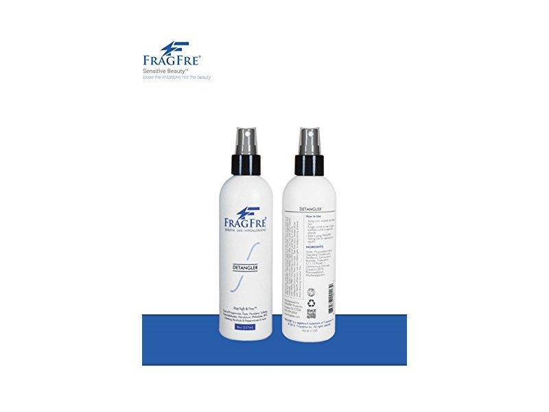 FragFre Detangler, Fragrance Free, 8 fl oz (Pack of 2)