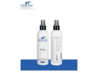 FragFre Detangler, Fragrance Free, 8 fl oz (Pack of 2)