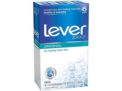 Lever 2000 Soap Bar, Original, 4 oz (Pack of 6)