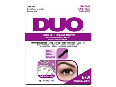 Duo Adhesives Quick-Set Striplash Adhesive Dark Tone