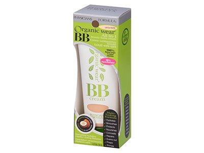 Physicians Formula Organic Wear 100% Natural Origin BB Beauty Balm Cream, Light, 1.2 Fluid Ounce - Image 9