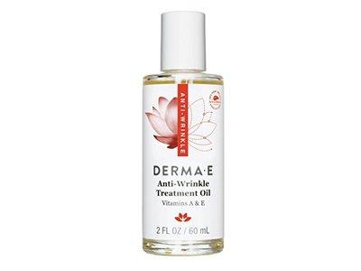 DERMA E Anti-Wrinkle Treatment Oil with Vitamin A and Vitamin E, 2oz - Image 1