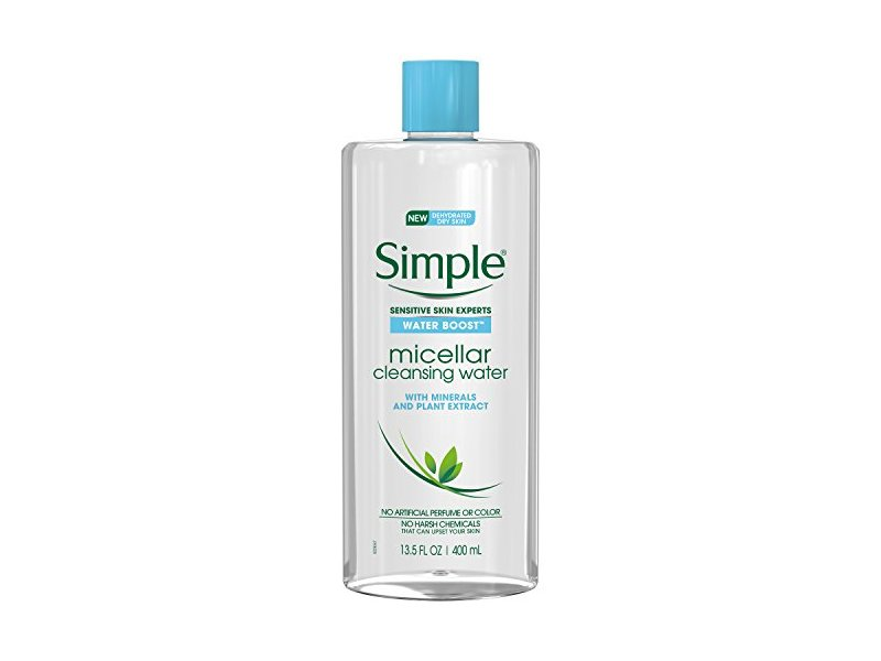 Simple Water Boost Micellar Cleansing Water, 13.5 fl oz
