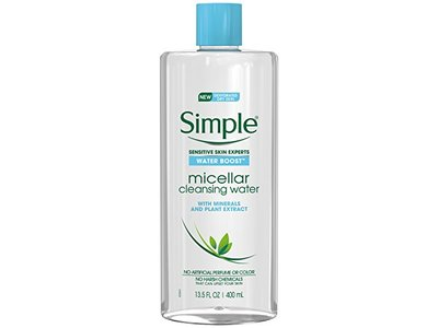Simple Water Boost Micellar Cleansing Water, 13.5 fl oz - Image 1