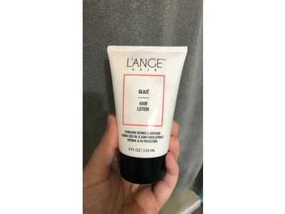 L'ANGE Salon Grade Hair Glaze Smoothing Lotion For All Hair Types, 4 Fl.Oz
