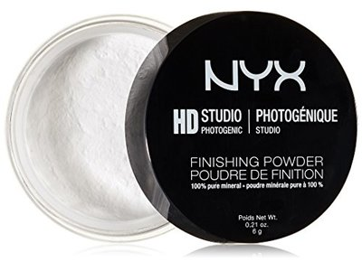 NYX Cosmetics HD Studio Finishing Powder, Translucent Finish, 0.21 Ounce