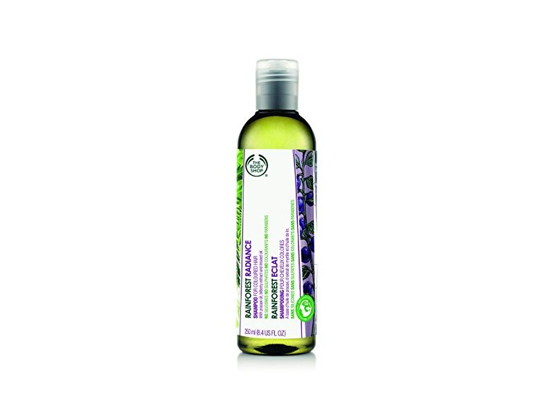 The Body Shop Rainforest Radiance Shampoo, Regular, 8.4 Fluid Ounce