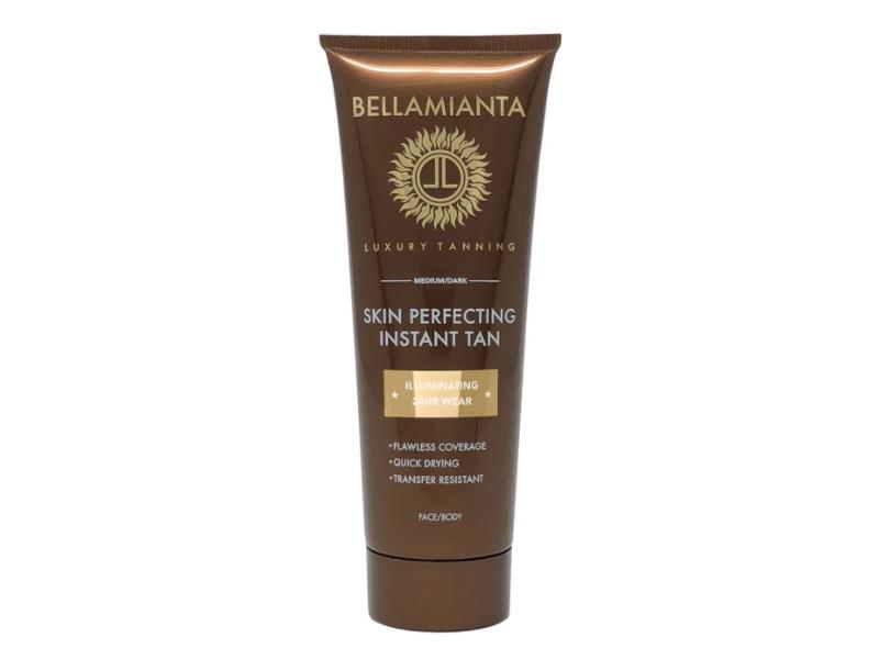 Bellamianta Skin Perfecting Instant Tan, Medium/Dark, 1.69 fl oz/50 mL