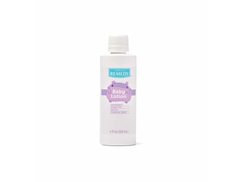 Medline Remedy Baby Lotion, 4 fl oz/118 mL (Pack of 60)