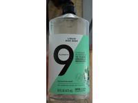9 Elements Liquid Dish Soap, Eucalyptus Scent, 16 fl oz/473 mL - Image 3