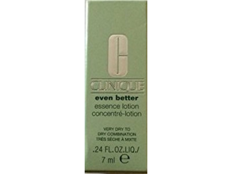 Clinique Even Better Essence Lotion Very Dry to Dry Combination, .24 fl oz/7 mL
