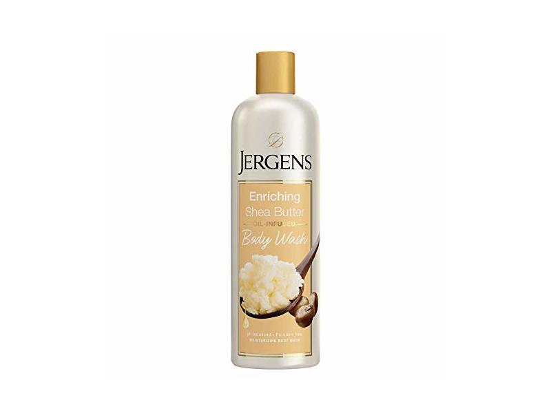 Jergens Enriching Shea Butter Body Wash, 22 fl oz/650 mL