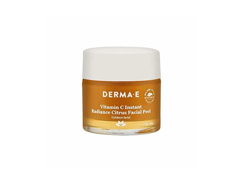 Derma E Vitamin C Instant Radiance Citrus Facial Peel, 2.0 oz