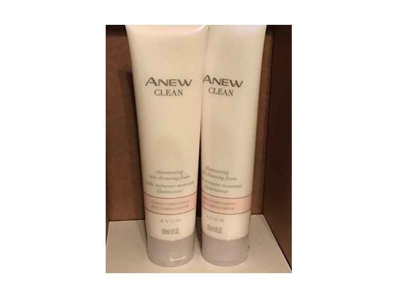 Avon Anew Clean Illuminating Rich Cleansing Foam, 5 fl.oz.