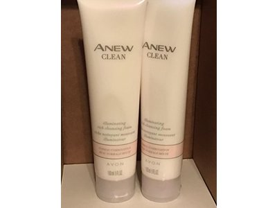 Avon Anew Clean Illuminating Rich Cleansing Foam, 5 fl.oz. - Image 1