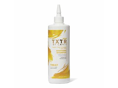 Cantu TXTR Soothing Shampoo, Apple Cider Vinegar + Tea Tree, 16 fl oz - Image 1