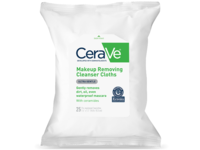 CeraVe Makeup Removing Cleanser Cloths Ultra Gentle Wipes, 25CT - Image 2