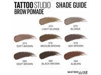 Maybelline New York Tattoo Studio Brow Pomade Medium Brown 0.106 Ounce - Image 16