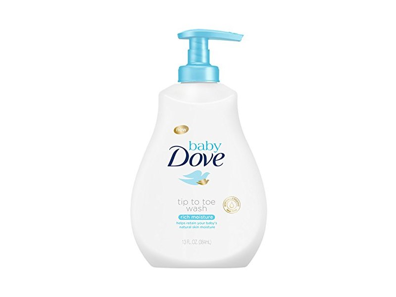 Baby Dove Tip To Toe Wash Rich Moisture 13 Fl Oz Ingredients And Reviews