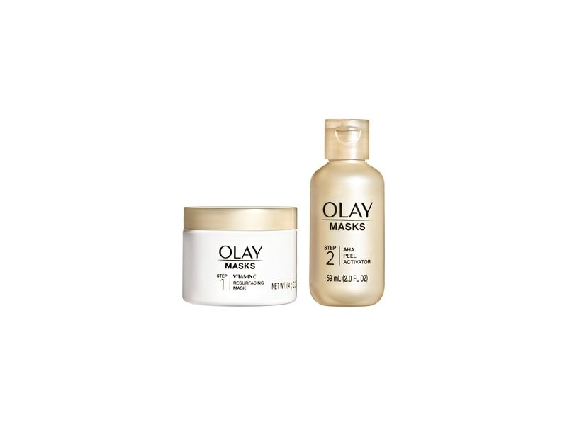 Olay Vitamin C Mask + AHA Resurfacing Peel