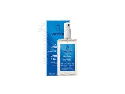 Weleda Deodorant Spray, Sage, 3.4 fl oz/100 ml