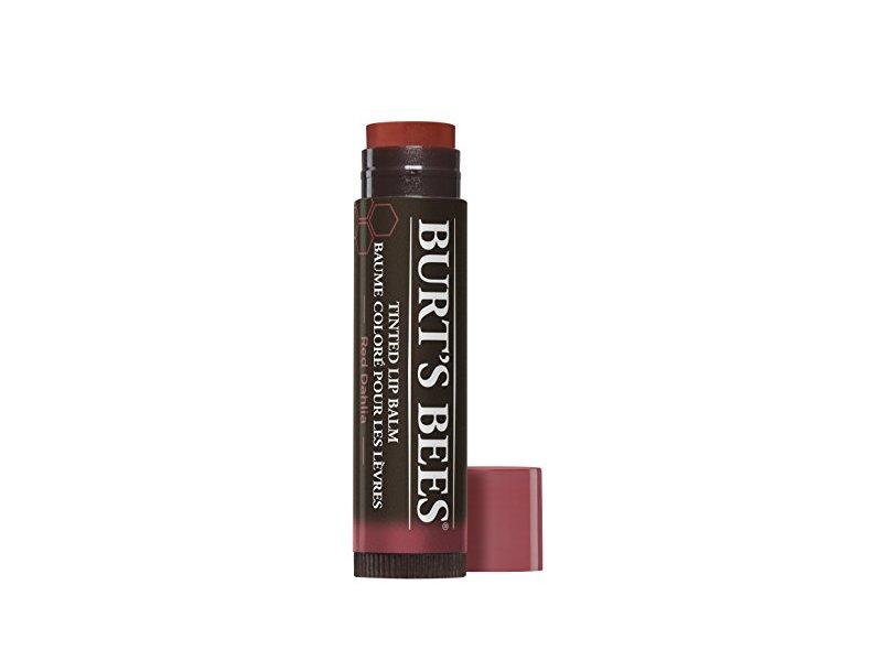 Burt's Bees Tinted Lip Balm, Red Dahlia, 0.15 0z