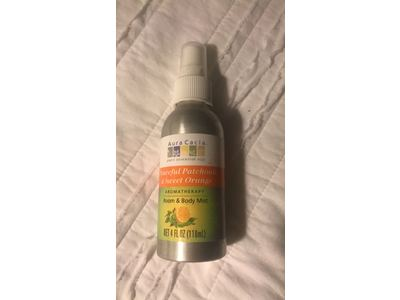 Aura Cacia Room and Body Mist, Peaceful Patchouli and Sweet Orange, 4 Fluid Ounce - Image 4