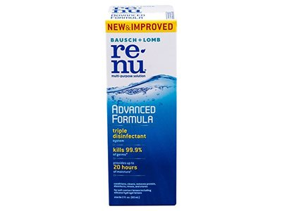 Bausch & Lomb Renu Advanced Formula, 2.0 fl oz