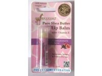 Pure Shea Butter Lip Balm Pomegranate Out Of Africa, 0.15 oz - Image 2