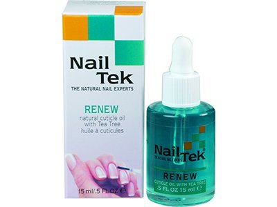 Nailtek Renew Natural Cuticle Oil, 0.5 fl oz /15 mL